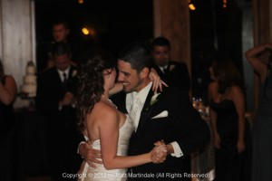 The couple shares one of their first dances