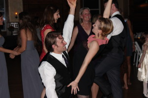 A fun Denver wedding at the Gate House as part of the Lionsgate Center and performed by Colorado wedding DJ Matt Martindale and Amore DJ Entertainment