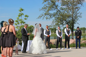 A special Colorado wedding in Northern Colorado at Pelican Lakes at Water Valley and flawlessly performed by Fort Collins wedding DJ Amore DJ Entertainment
