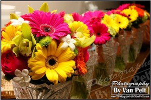 Gorgeous and colorful wedding flowers by Best Day Floral and captured by Fort Collins wedding photographer Cody Van Pelt with Photography by Van Pelt