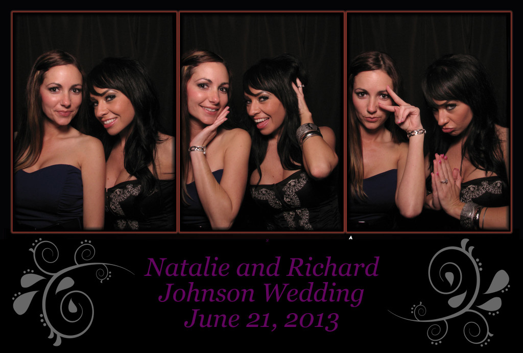 A wedding photobooth template for Colorado wedding photo booth company Amore Interactive Photo Booth
